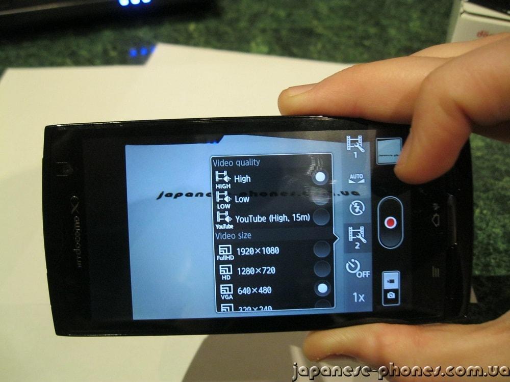 Японский смартфон FUJITSU ARROWS Kiss F-05D