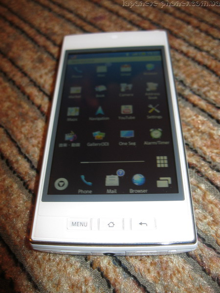 Японский смартфон SoftBank GALAPAGOS SHARP 005SH