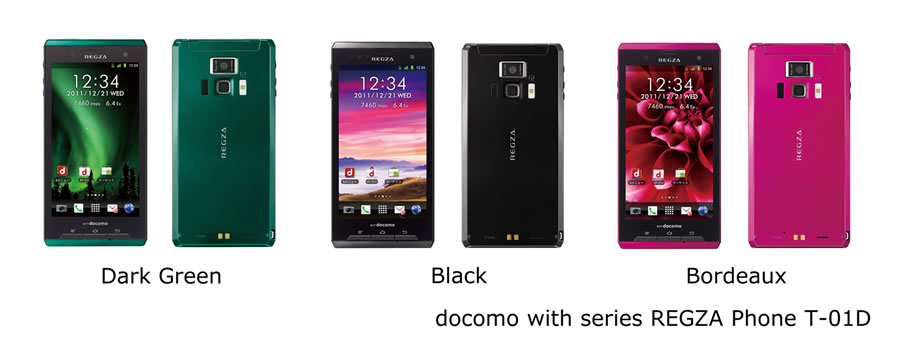 Японский смартфон Toshiba DoCoMo REGZA Phone T-01D