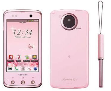 Японский телефон (смартфон) Docomo Arrows Kiss F-03D (Fujitsu)