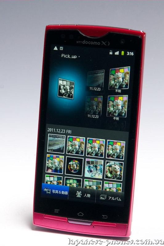 Японский телефон (смартфон) DoCoMo Fujitsu ARROWS X LTE F-05D