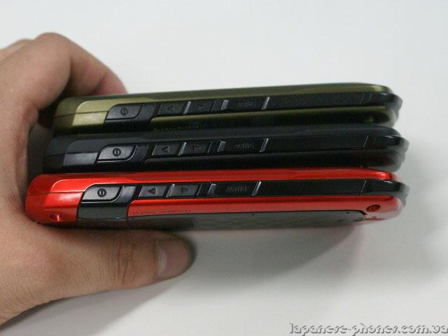 Японский телефон (смартфон) для азиатского рынка от NEC-CASIO