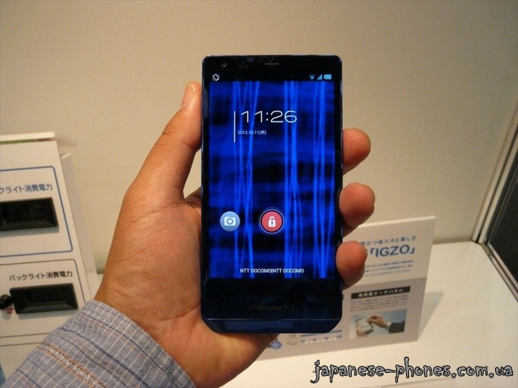 SHARP DoCoMo AQUOS Phone ZETA SH-02E