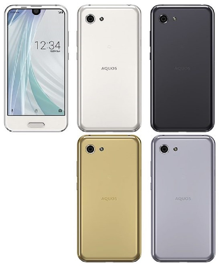 SHARP SoftBank EDGEST fit AQUOS R compact